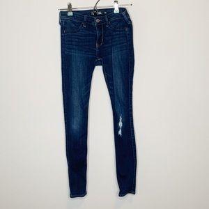 Hollister Denim Jean Legging Size 3 W26